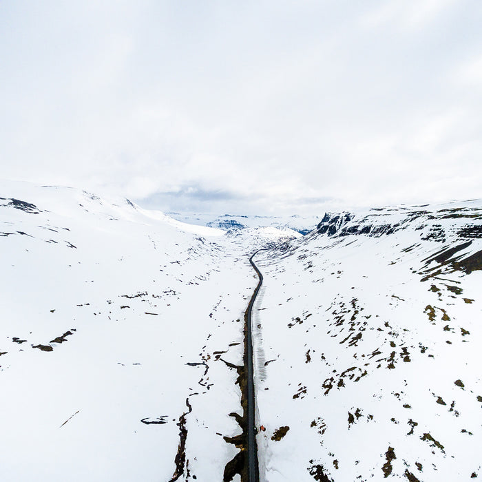 Iceland Discovered Snow Covered Valley x Eric Paez