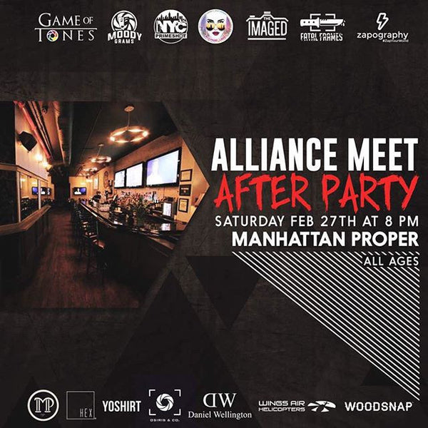 #AllianceMeetNYC After Party Feb 27, 2016