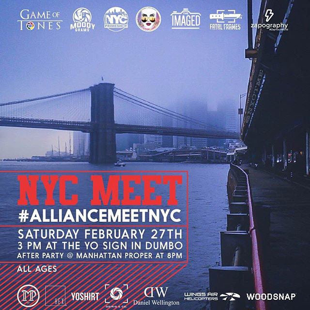 NYC Meet #AllianceMeetNYC Feb 27, 2016
