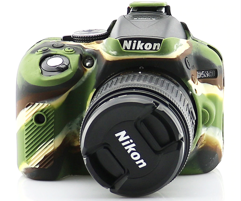 Nikon D5300 Armor Skin Case Body Cover Protector - Osiris & Co.