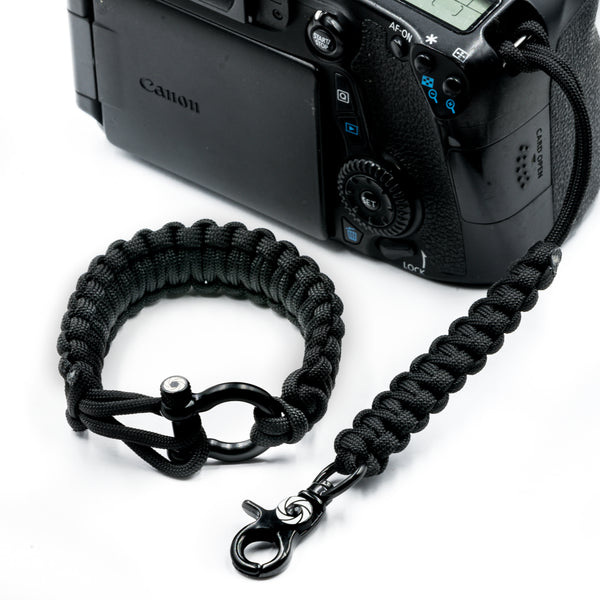 """The OG"" Black Camera Strap System - Osiris & Co."