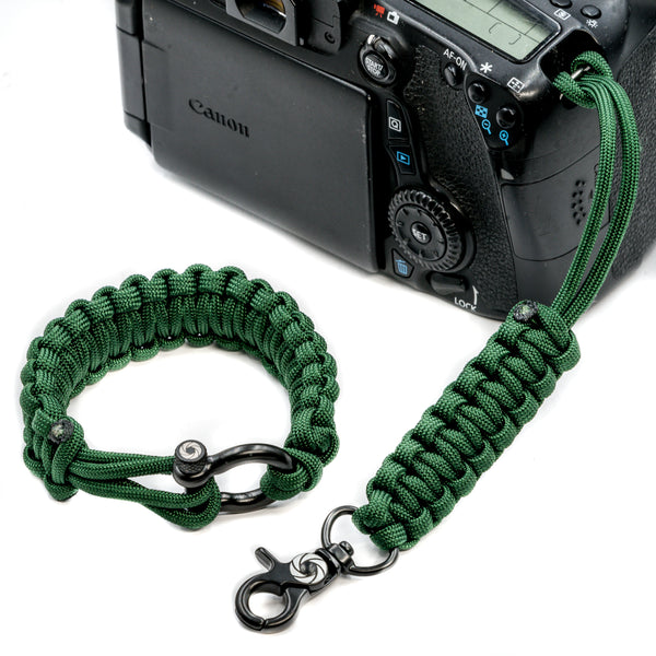 """Oz"" Camera Strap System Black Hardware - Osiris & Co."