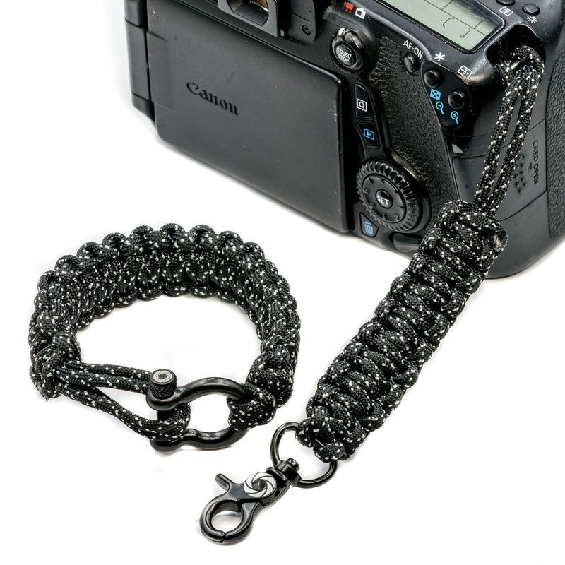 """007"" Camera Strap System Black Hardware - Osiris & Co."