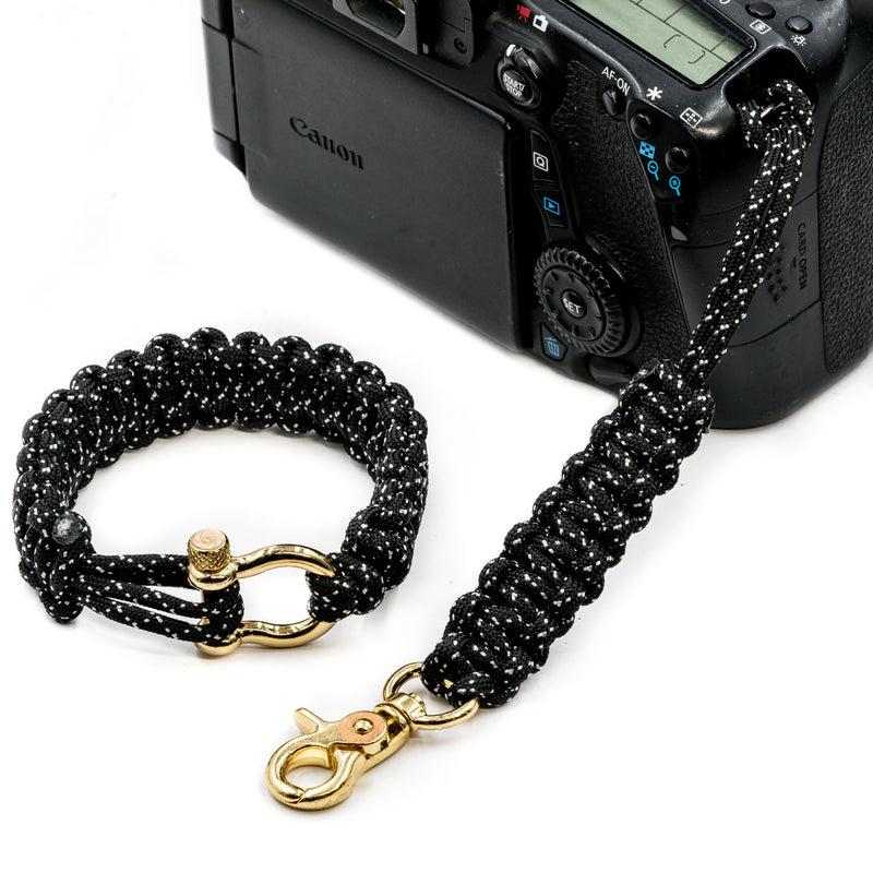 """007"" Camera Strap System Gold Hardware - Osiris & Co."