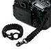 """Stealth"" *Reflective Tracer* Camera Strap System Black Hardware - Osiris & Co."