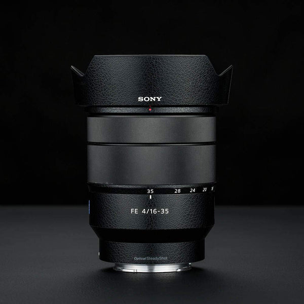 """Leather"" Lens Protector Skin for Sony 16-35 f/4 - Osiris & Co."
