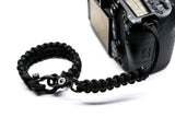 """The Original"" Black Complete Camera Strap System Black Hardware - Osiris & Co."