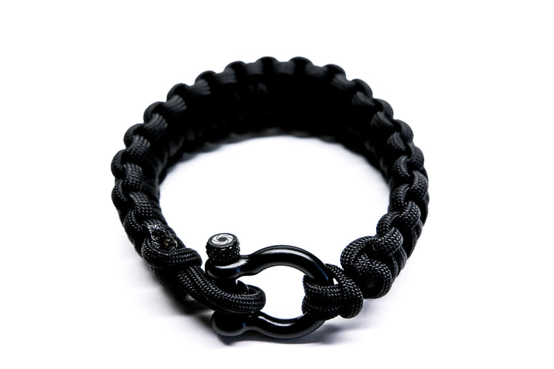 """Black"" Osiris & Co. Bracelet Black Hardware - Osiris & Co."