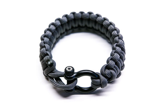 """Graphite"" Bracelet Black Hardware - Osiris & Co."