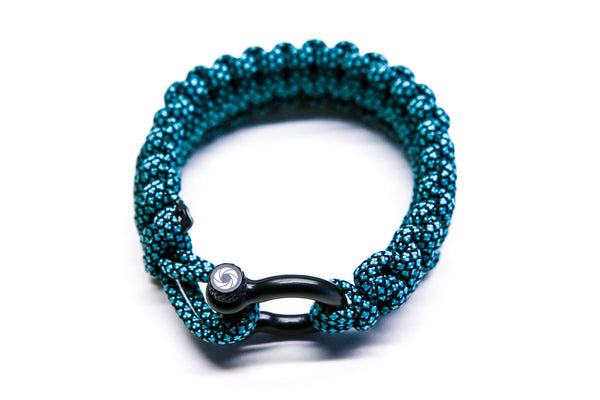 """Blue Diamond"" Bracelet Black Hardware - Osiris & Co."