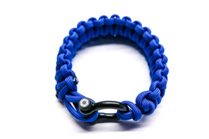 """Blue"" Osiris & Co. Bracelet Black Hardware - Osiris & Co."