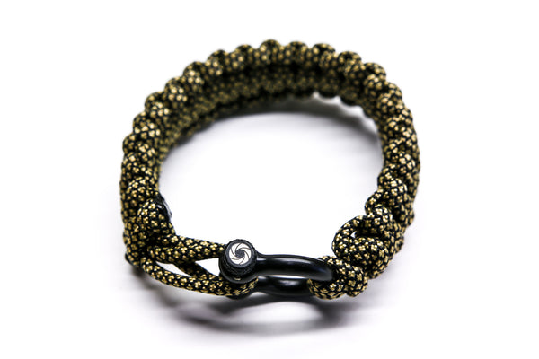 """Golden Diamond"" Bracelet Black Hardware - Osiris & Co."
