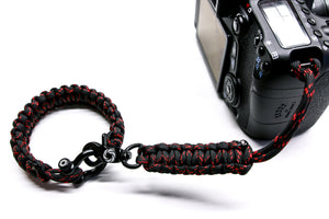 """Venom"" Complete Camera Strap System Black Hardware - Osiris & Co."