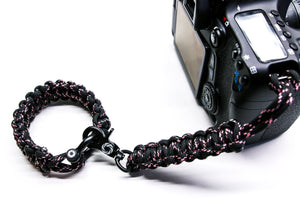 """XO"" Camera Strap System Black Hardware - Osiris & Co."