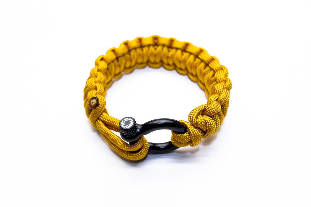 """Yellow"" Osiris & Co. Bracelet Black Hardware - Osiris & Co."