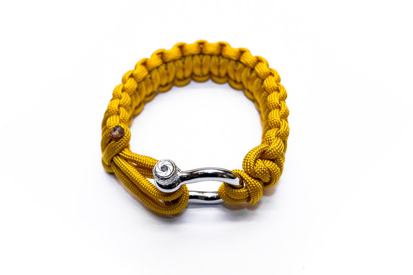 """Yellow"" Bracelet Silver Hardware - Osiris & Co."