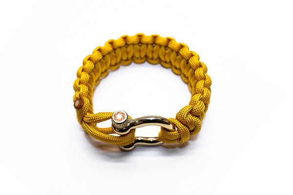 """Yellow"" Osiris & Co. Bracelet Gold Hardware - Osiris & Co."