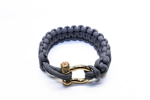 """Graphite"" Osiris & Co. Bracelet Gold Hardware - Osiris & Co."