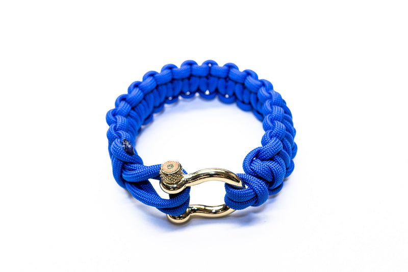 """Blue"" Bracelet Gold Hardware - Osiris & Co."