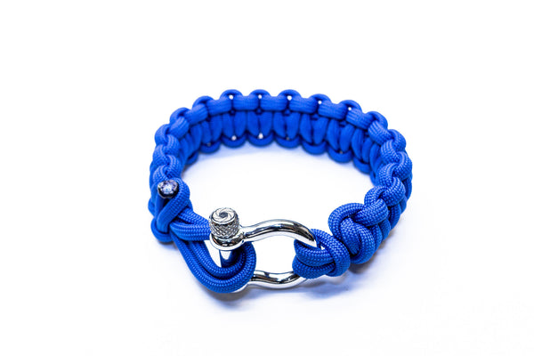 """Blue"" Bracelet Silver Hardware - Osiris & Co."