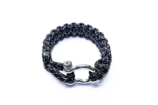 """007"" Osiris & Co. Bracelet Silver Hardware - Osiris & Co."