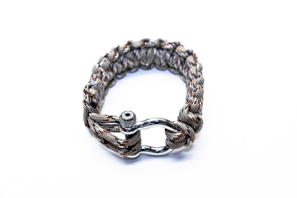 """Desert Fox"" Bracelet Silver Hardware - Osiris & Co."