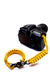 """Yellow"" Camera Strap System Black Hardware - Osiris & Co."