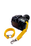 """Instinct"" Complete Camera Strap System Silver Hardware - Osiris & Co."