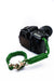 """Green Diamond"" Camera Strap Gold Hardware - Osiris & Co."