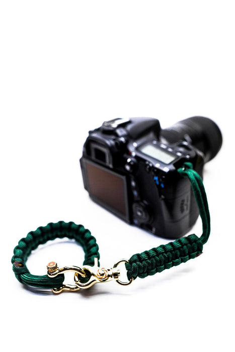 """Oz"" Camera Strap System Gold Hardware - Osiris & Co."