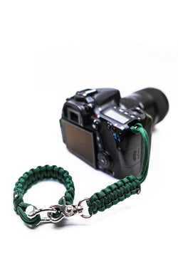 """Oz"" Camera Strap System Silver Hardware - Osiris & Co."