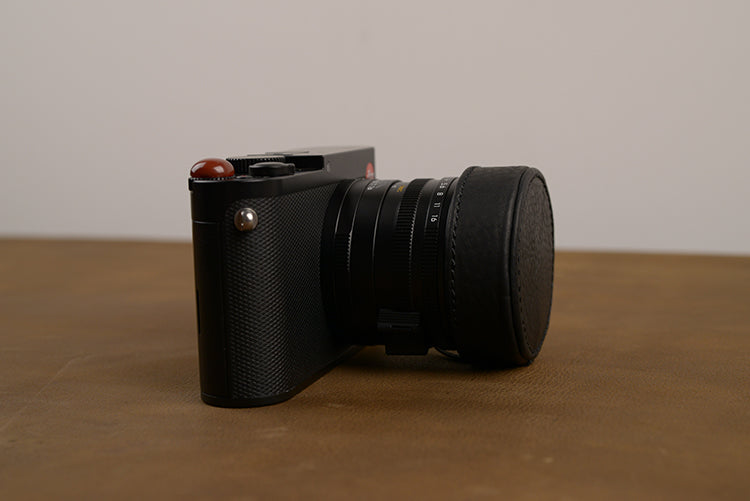 Leica Q Genuine Leather Lens Cap - Osiris & Co.