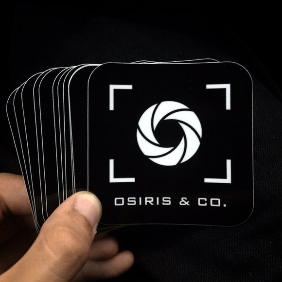 Osiris & Co. 3 x 3 Sticker - Osiris & Co.