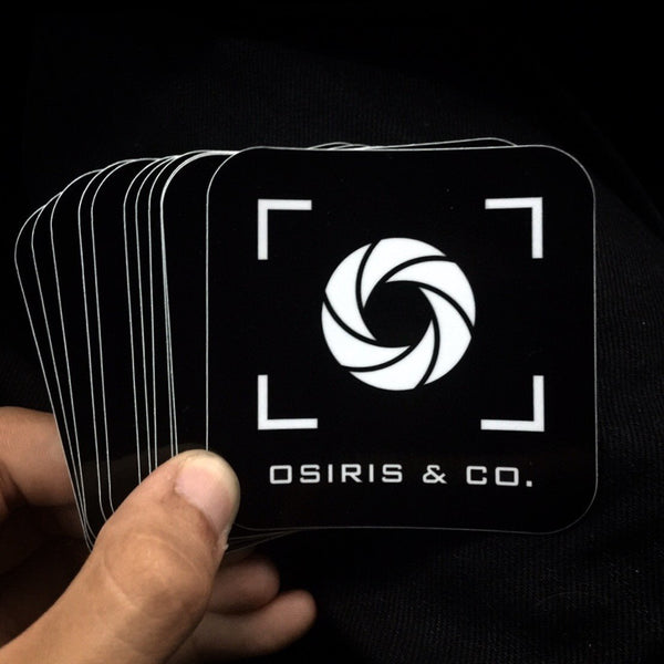 "*FREE* Osiris & Co. 3"" x 3"" Sticker - Osiris & Co."