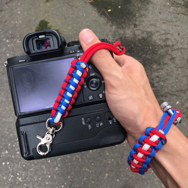 """America"" Reversible Camera Strap System - Osiris & Co."