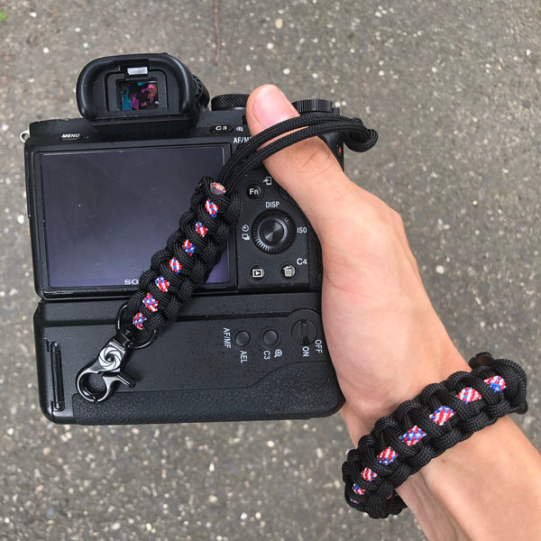 """USA Pride"" Reversible Camera Strap System - Osiris & Co."