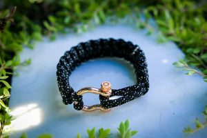 """007"" Osiris & Co. Bracelet Rose Gold Hardware - Osiris & Co."