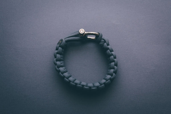 """Graphite"" Bracelet Gold Hardware - Osiris & Co."
