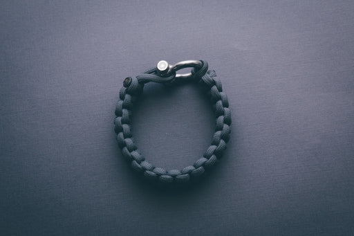 """Graphite"" Bracelet Silver Hardware - Osiris & Co."