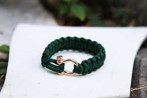 """Oz"" Osiris & Co. Bracelet Rose Gold Hardware - Osiris & Co."