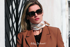 professional attire woman CEO amelia island city silk scarf designer mary DeArment FORTUNE