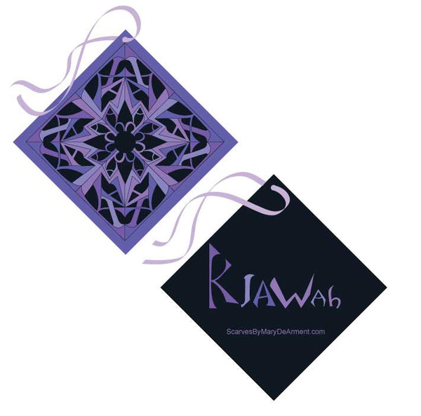 "KIAWAH ISLAND CITY SILK SCARF - 36x36"" - Scarves by Mary DeArment - 9"