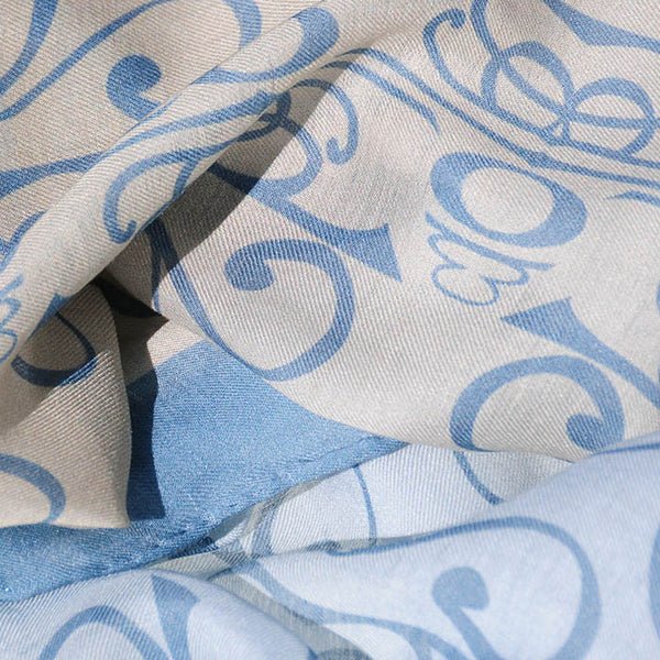 "Peace is Shalom MODAL CASHMERE LUXE SCARF 20x68"" - Scarves by Mary DeArment - 2"