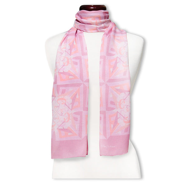 "Peace is Soft MODAL CASHMERE LUXE SCARF 20x68"" - Scarves by Mary DeArment - 1"