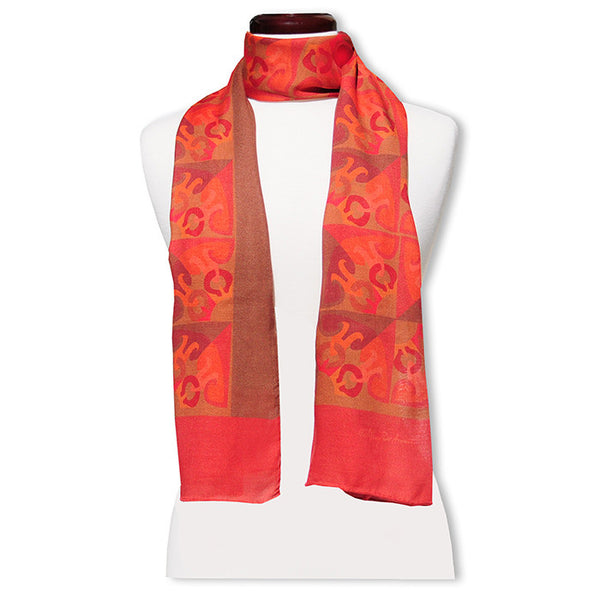 "Peace is Subtle MODAL CASHMERE LUXE SCARF 20x68"" - Scarves by Mary DeArment - 1"