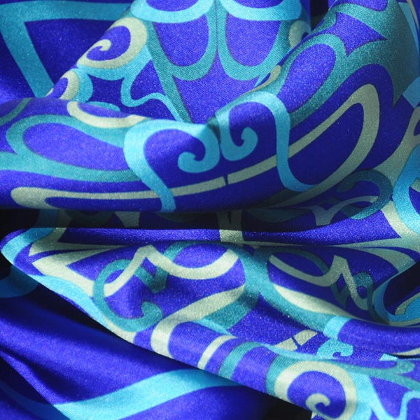 "CANNON BEACH CITY SILK SCARF - 36x36"" - Scarves by Mary DeArment - 2"