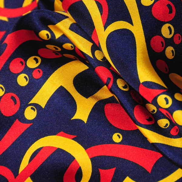 "REGATTA SILK SCARF - 36x36"" - Scarves by Mary DeArment - 2"