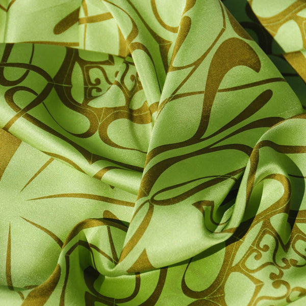 "THANK YOU SILK SCARF - 36x36"" - Scarves by Mary DeArment - 2"