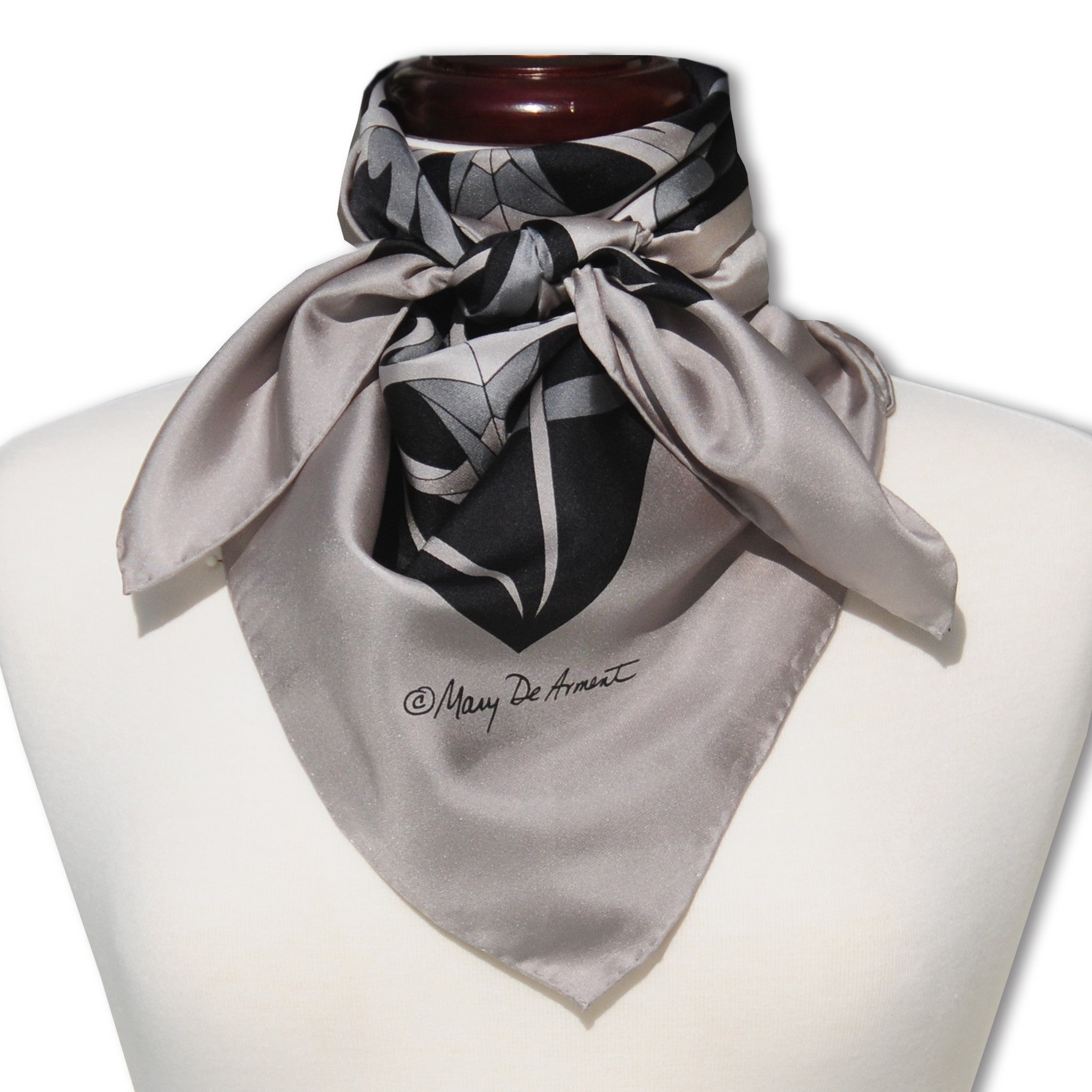 CARMEL CITY SILK SCARF | 36x36