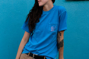 Out of the Blue Pocket Tee